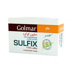 صابون گوگرد ۱۰٪ سولفیکس گلمر