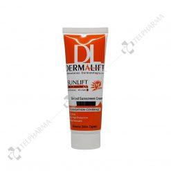 ضد آفتاب رنگی فاقد چربی سان لیفت SPF50+ درمالیفت شماره 2