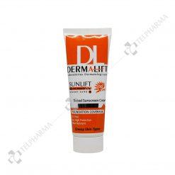 ضد آفتاب رنگی فاقد چربی سان لیفت SPF50+ درمالیفت شماره 4