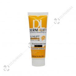 ضد آفتاب رنگی پوست معمولی و خشک سان لیفت SPF50 درمالیفت شماره 2