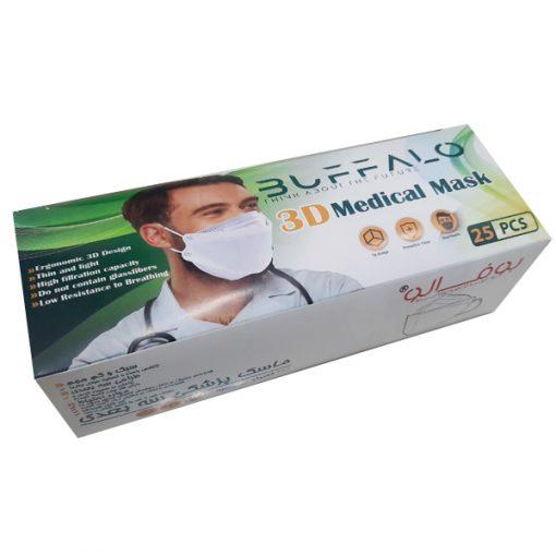 ماسک سه بعدی فیش بوفالو ۴ لایه
