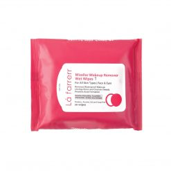 دستمال مرطوب آرایش پاک کن انواع پوست 1 لافارر
