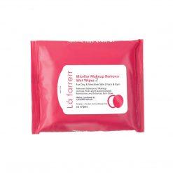 دستمال مرطوب آرایش پاک کن پوست خشک و حساس 2 لافارر