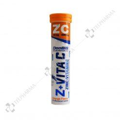 قرص جوشان زینک پلاس ویتامین سی دوبیس